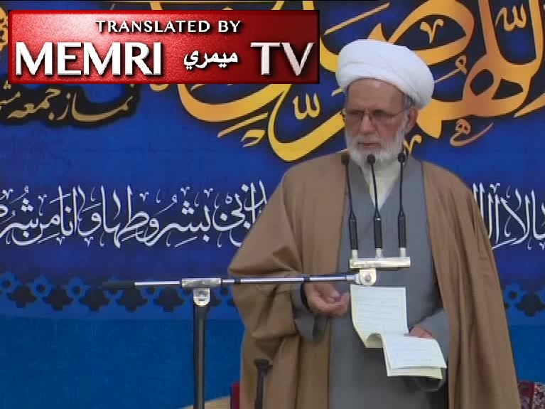 Mashhad Friday Sermon by Mohammad-Bagher Farzaneh: America Is against Humanity; Its Arrogance is No Different than Pharaoh's